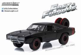 Dodge  - Charger R/T Off Road F&F 1970 black - 1:43 - GreenLight - 86232 - gl86232 | The Diecast Company