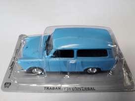 TRABANT 601 universal 1:43 iconic car PRL-u Poland magazine model