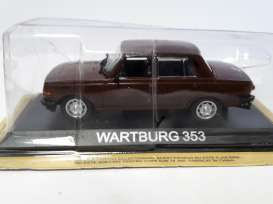 Wartburg  - brown - 1:43 - Magazine Models - lcWart353 - maglcWart353 | The Diecast Company