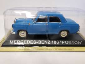 Mercedes Benz  - blue - 1:43 - Magazine Models - lcMBponton - maglcMBponton | The Diecast Company