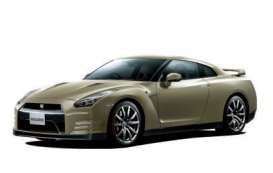 Ixo Premium X - Nissan  - ixPRD516J : 2015 Nissan GT-R 45th Anniversary Gold Edition, silica brass