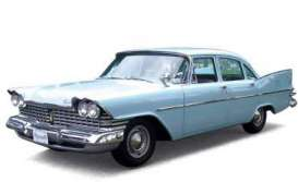 Plymouth  - 1959 light blue - 1:43 - Ixo Premium X - PRD262 - ixPRD262 | The Diecast Company