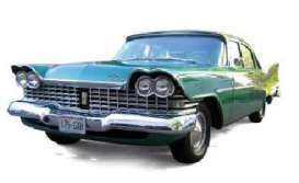 Plymouth  - 1959 green with white roof - 1:43 - Ixo Premium X - PRD263 - ixPRD263 | The Diecast Company