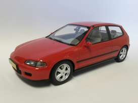 Honda  - 1992 red - 1:18 - Triple9 Resin series - T9R1800100 - T9R1800100 | The Diecast Company