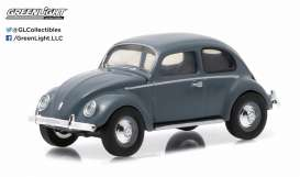 Volkswagen  - 1950 grey-blue - 1:64 - GreenLight - 96150A - gl96150A | The Diecast Company