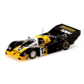 Porsche  - 1984 yellow/black - 1:18 - Minichamps - mc155846612 | The Diecast Company