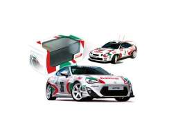 Toyota  - 2015 white/green/red - 1:43 - IXO Models - mdcs01ty - ixmdcs01ty | The Diecast Company