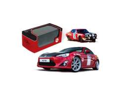 Toyota  - 2015 red/black - 1:43 - IXO Models - mdcs05ty - ixmdcs05ty | The Diecast Company