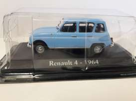 Renault  - 1964 blue - 1:43 - Magazine Models - RBAre4 - magRBAre4 | The Diecast Company