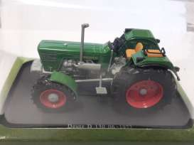Deutz  - D 130 1972 green - 1:43 - Magazine Models - TRd130 - magTRd130 | The Diecast Company