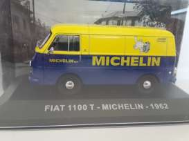 Fiat  - 1951 yellow/blue - 1:43 - Magazine Models - MI1100T - magMI1100T | The Diecast Company
