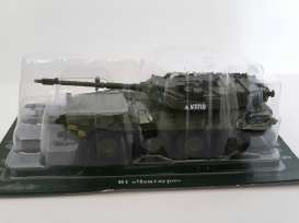 Russian Tanks  - green - Magazine Models - TAB1 - magTAB1 | The Diecast Company