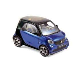 Smart  - 2015 black/blue - 1:43 - Norev - 351420 - nor351420 | The Diecast Company