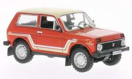 Lada  - 1981 red - 1:43 - Whitebox - 075 - WB075 | The Diecast Company