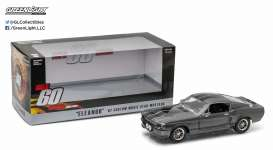 Shelby  - GT500 *Eleanor* 1967 grey/black - 1:24 - GreenLight - 18220 - gl18220 | The Diecast Company