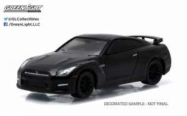 Nissan  - 2015 black - 1:64 - GreenLight - 27790E - gl27790E | The Diecast Company