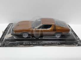 Alfa Romeo  - Montreal copper - 1:43 - Magazine Models - SCalMontreal - magSCalMontreal | The Diecast Company