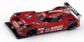 Nissan  - 2015 red - 1:43 - Spark - s4642 - spas4642 | The Diecast Company