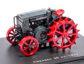 Cassani  - 1931 red/grey - 1:43 - Magazine Models - TRCasani - magTRCasani | The Diecast Company