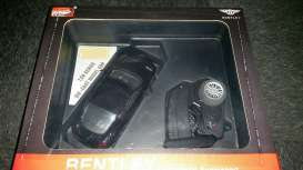 Bentley  - 2013 black - 1:24 - MZ Model - MZ25040Abk | The Diecast Company