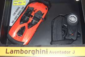 Lamborghini  - Aventador 2013 orange - 1:24 - MZ Model - MZ25070Ao | The Diecast Company