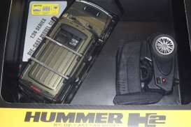 Hummer  - 2013 green - 1:24 - MZ Model - MZ25020Agn | The Diecast Company