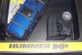 Hummer  - 2013 blue - 1:24 - MZ Model - MZ25020Ab | The Diecast Company