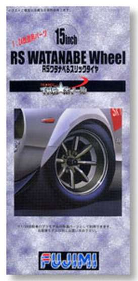 Wheels & tires Rims & tires - 1:24 - Fujimi - 193328 - fuji193328 | The Diecast Company