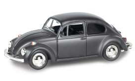 Volkswagen  - 2014 black matt - 1:32 - RMZ City - RMZ554017m | The Diecast Company