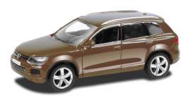 Volkswagen  - 2014 brown - 1:43 - RMZ City - RMZ444014br | The Diecast Company