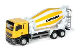 MAN  - 2014 yellow white - 1:64 - RMZ City - RMZ144041 | The Diecast Company