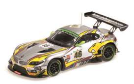 Minichamps - BMW  - mc437152546 : 2015 BMW Z4 GT3 BMW Sports Trophy Team Marc VDS winner 24hrs SPA Palttala/Catsburg/Luhr *resin series*