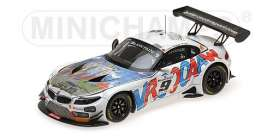 Minichamps - BMW  - mc437152559 : 2015 BMW Z4 GT3 Roal Motorsport 24hrs SPA Zanardi/Glock/Spengler *resin series*