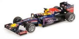 Red Bull Racing  Renault - 2013 blue - 1:43 - Minichamps - 410131201 - mc410131201 | The Diecast Company