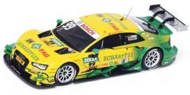 Audi  - 2015 yellow/green - 1:43 - Spark - sg215 - spasg215 | The Diecast Company