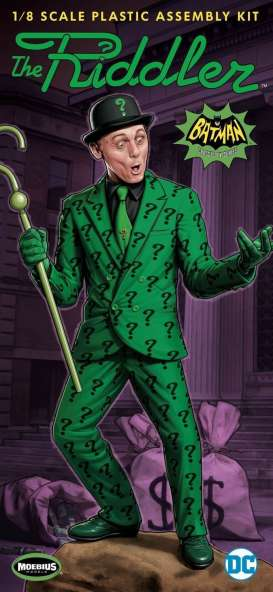 Batman  - Riddler figure  - 1:8 - Moebius - M954 - moes954 | The Diecast Company