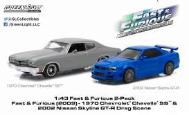 Nissan Chevrolet - 1:43 - GreenLight - 86252 - gl86252 | The Diecast Company