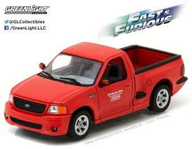 GreenLight - Ford  - gl86235 : 1999 Ford F-150 SVT Lightning *Fast & the Furious 2001*, red