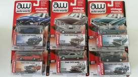 Assortment/ Mix  - various - 1:64 - Auto World - 64032B - AW64032B | The Diecast Company