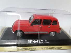 Renault  - red - 1:43 - Magazine Models - lcRE4L - maglcRE4L | The Diecast Company