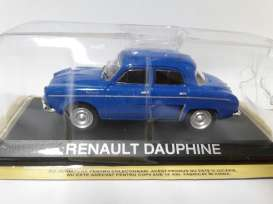 Renault  - blue - 1:43 - Magazine Models - LCreDau - magLCreDau | The Diecast Company
