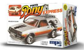 MPC - Ford  - mpc845 : 1979 Ford Pinto Wagon Pony Express, plastic modelkit