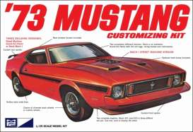 MPC - Ford  - mpc846 : 1973 Ford Mustang, plastic modelkit