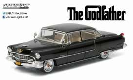 Cadillac  - Fleetwood series 60 Godfather 1955 black - 1:43 - GreenLight - 86492 - gl86492 | The Diecast Company