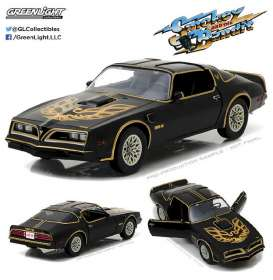 Pontiac  - Trans Am Smokey and the Bandit 1977 black/gold - 1:18 - GreenLight - 19025 - gl19025 | The Diecast Company