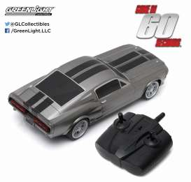Shelby  - GT500 *Eleanor* 1967 grey/black - 1:18 - GreenLight - 91001 - gl91001 | The Diecast Company