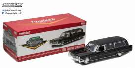Cadillac  - 1966 black - 1:18 - GreenLight Precision Collection - GLPC18002 | The Diecast Company