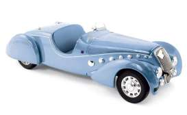 Peugeot  - 1937 blue metallic - 1:18 - Norev - 184821 - nor184821 | The Diecast Company