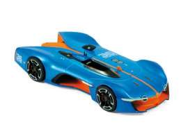 Renault  - 2015 blue/orange - 1:43 - Norev - nor517846 | The Diecast Company