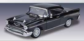 Chevrolet  - 1957 black - 1:18 - Motor Max - mmax73180bk | The Diecast Company